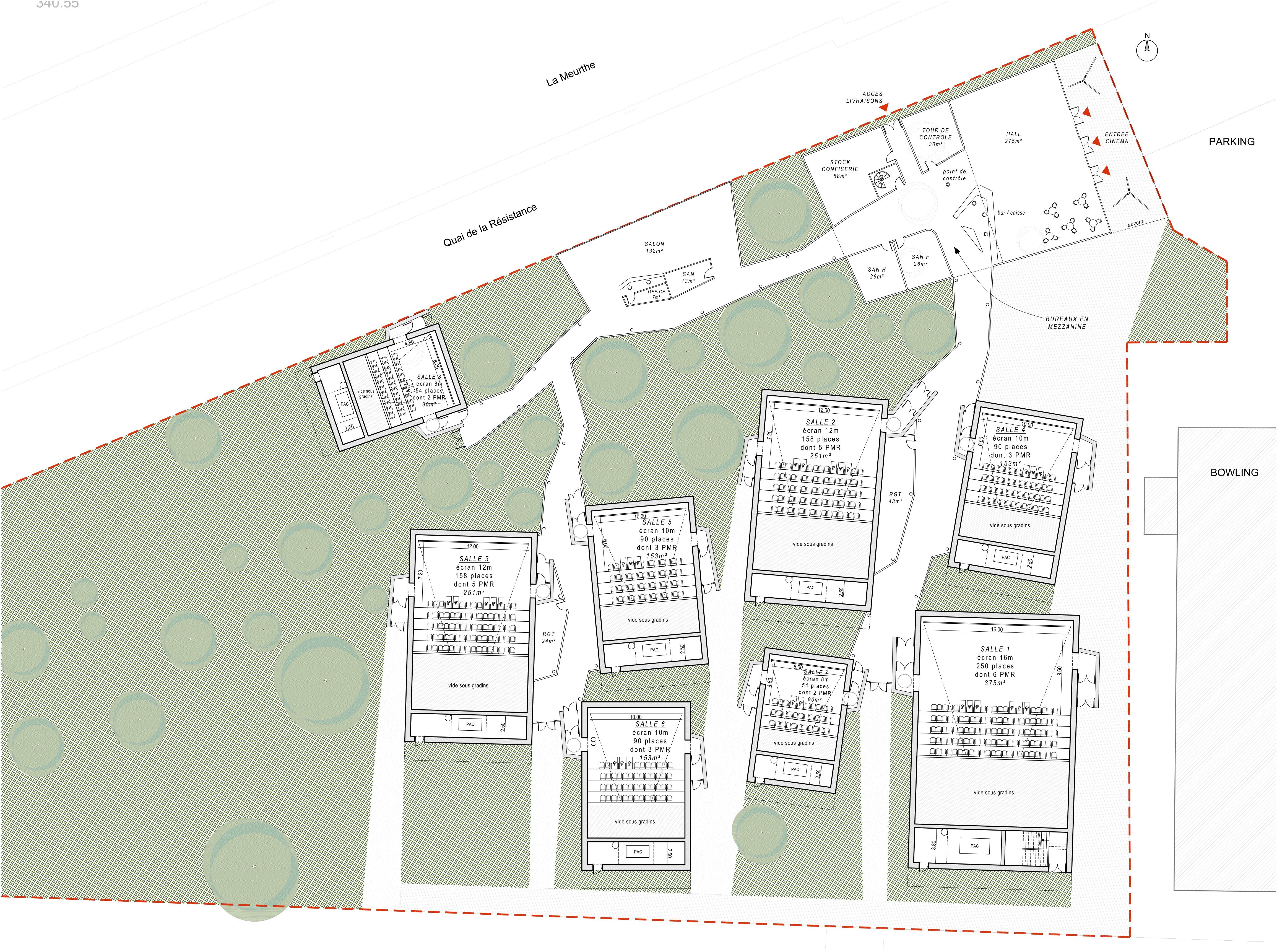 Nova cin mas construction d un complexe cin matograhique for Plan epernay